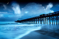 Folly Beach Pier, Folly Beach, SC.